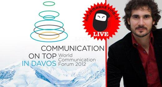 Forum Davos 2012: il keynote di Mirko Pallera in live streaming