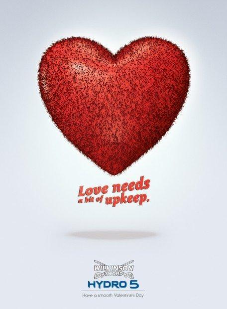 Le più belle pubblicità di San Valentino