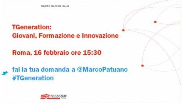 TGeneration: I primi risultati in live streaming con Marco Patuano e Carlo Alberto Carnevale Maffè! [EVENTO]