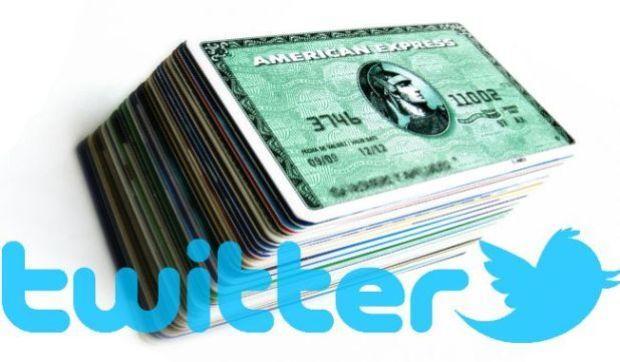 Twitter e gli annunci self-service con American Express