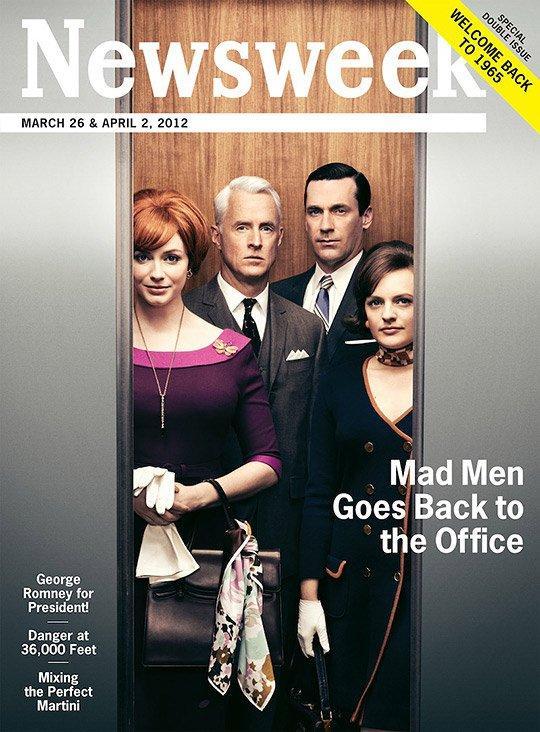 Mad Men, Newsweek esce in edizione vintage