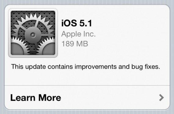 Apple rende disponibile iOS 5.1
