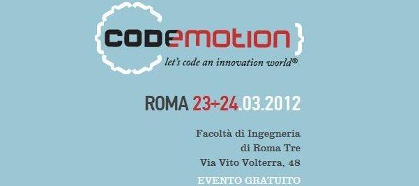 Il Codemotion 2012 si avvicina: siete pronti per l'evento?