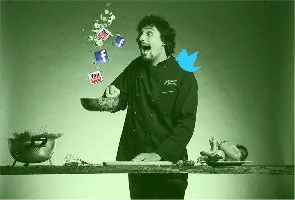 La ricetta segreta di Alessandro Borghese, best social chef 2012