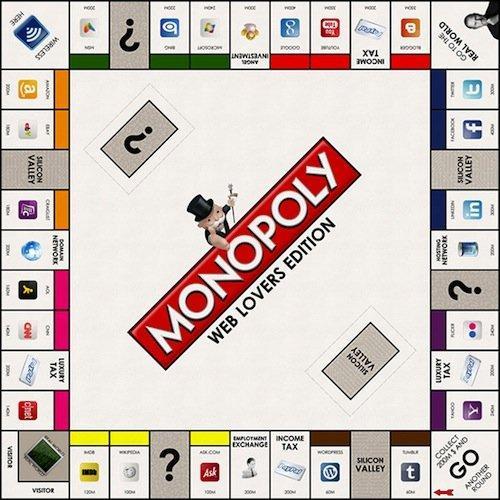 Monopoli Web Lovers Edition: la tradizione incontra la rete