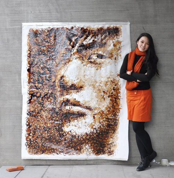 I ritratti all'aroma di caffè di Hong Yi