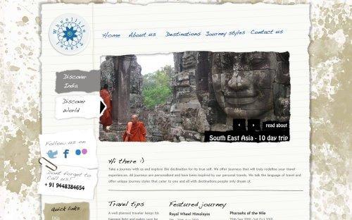 Turismo & Web design: 10 siti da cui trarre ispirazione