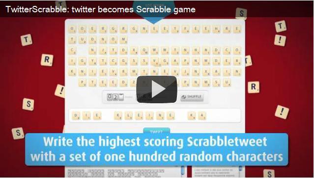 TwitterScrabble, il social game per rilanciare lo Scarabeo
