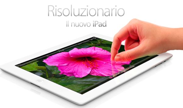 Il nuovo iPad: per Apple è l'era del post Pc!