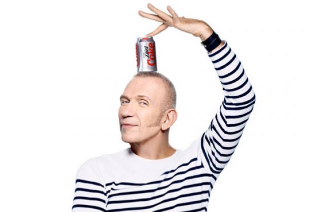 Nuovo direttore creativo per Coca Cola Light: Jean Paul Gaultier