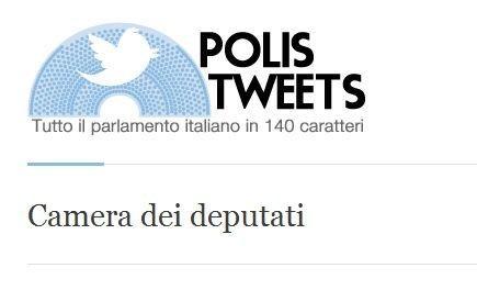 Polis Tweets, l'aggregatore dei parlamentari italiani su Twitter