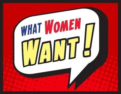 Quello che le donne (e gli uomini) vogliono davvero [INFOGRAFICA]