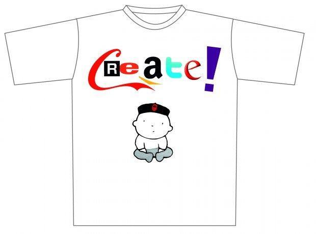 Create! Disponibile versione ebook e magliette per i Creator
