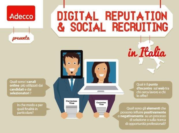 Tutti i dati del social recruiting in Italia [INFOGRAFICA]