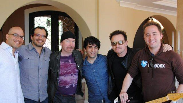 Bono e The Edge degli U2 investono in Dropbox [BREAKING NEWS]