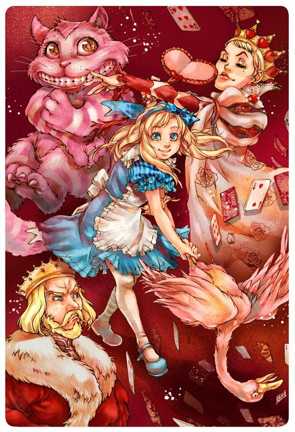 Alice in Wonderland diventa un manga