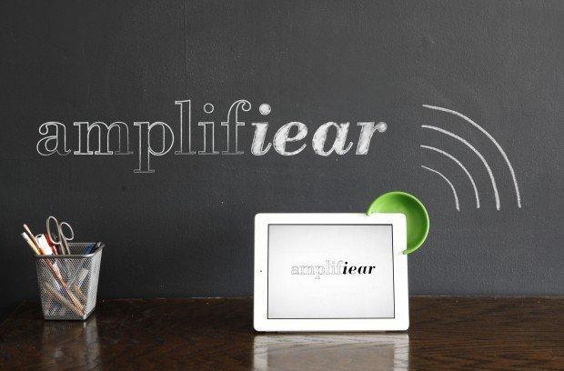 Amplifiear per iPad: un piccolo accessorio che farà molto rumore