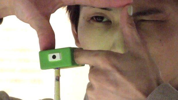 Fare foto grazie alle vostre dita? Con Ubi-Camera si può!