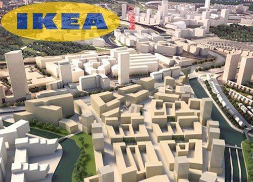 IKEA: parte la costruzione di un intero quartiere a Londra