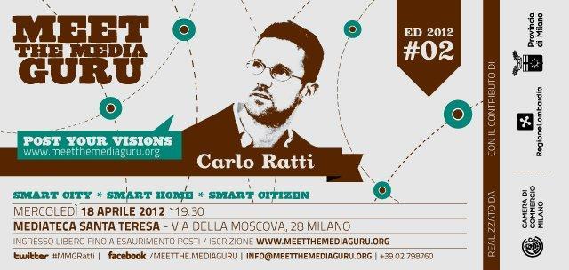 Carlo Ratti: Il futuro prossimo delle Smart Cities [EVENTO]