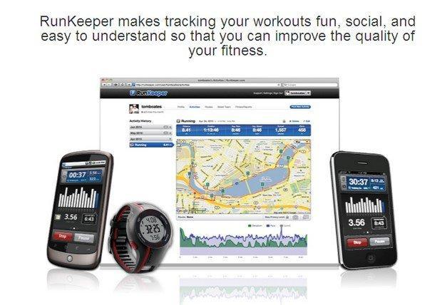 Le 8 migliori App per le nuove Timeline di Facebook: RunKeeper