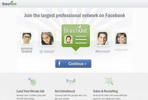 Le 8 migliori App per le nuove Timeline di Facebook: BranchOut