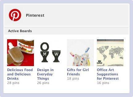 Le 8 migliori App per le nuove Timeline di Facebook: Pinterest