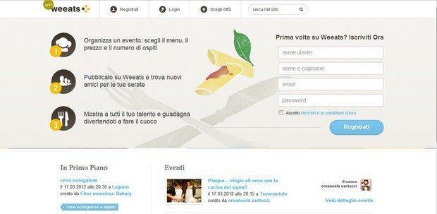 Ecco weeats il social dining più appetitoso del web
