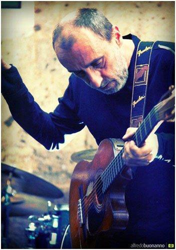 Sabato 28 aprile Fausto Mesolella a Studio35 Live