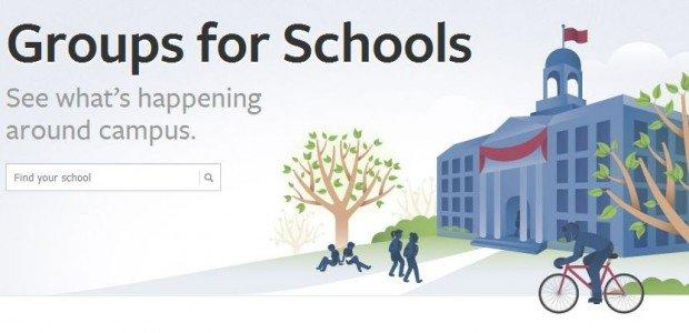 Facebook lancia Groups for Schools