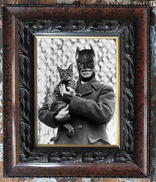 Ritratti di famiglia vintage dei supereroi Marvel