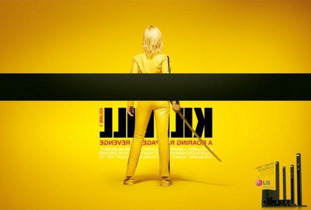 LG ci mostra le locandine dei film cult da una nuova angolazione