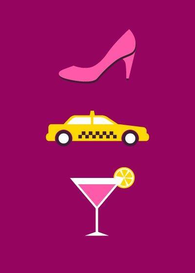 Serie TV nascoste nei poster minimalisti di Re:design