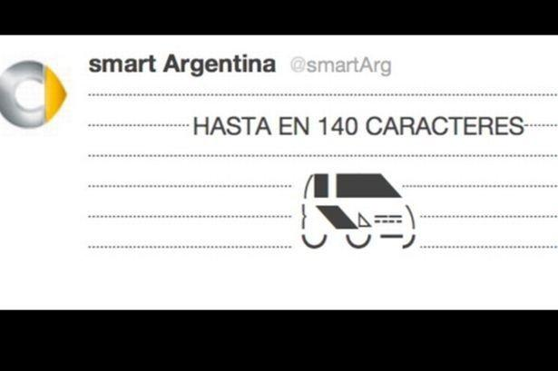 Smart Argentina lancia il suo primo Twitter Commercial