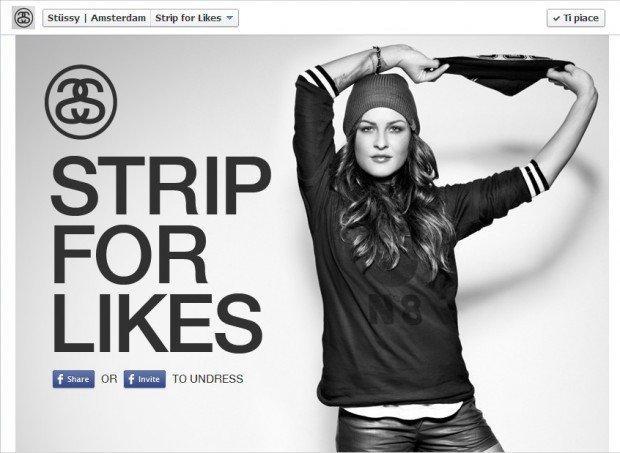 Strip for Likes, l'ultima idea hot di Stussy Amsterdam