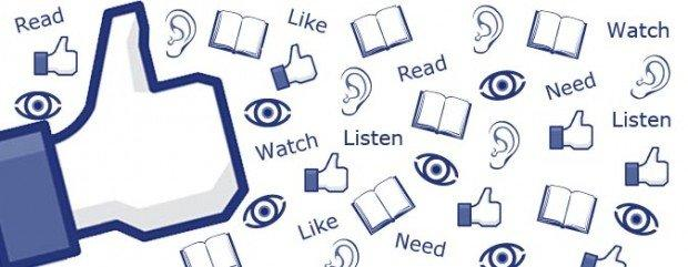 Facebook aggiunge il pulsante ascolta