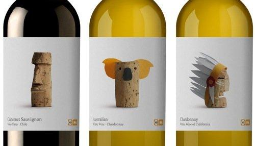 Con il concept Wines of the World si brinda al graphic design