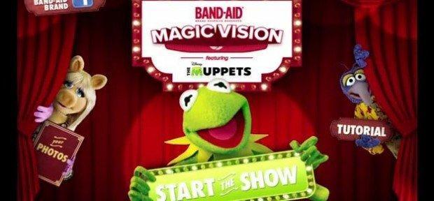 I Muppet saltano fuori dal cerotto in AR