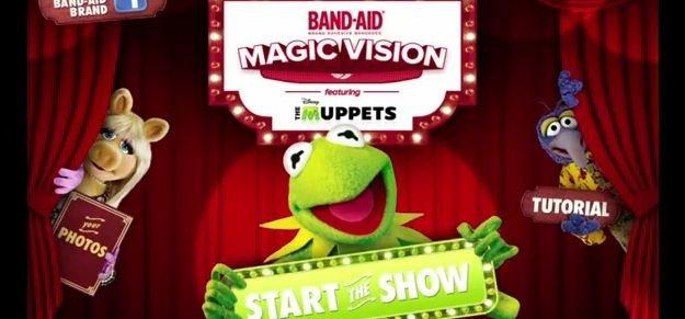 I Muppet saltano fuori dal cerotto in AR [VIDEO]