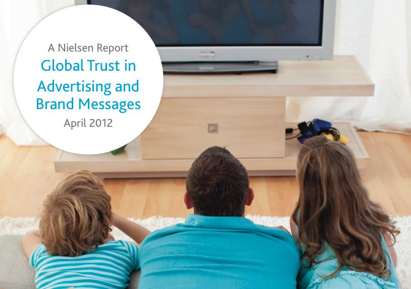 Nielsen: aumenta la fiducia nell'Earned Advertising