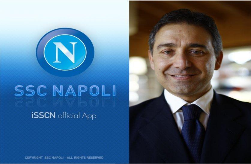 iSSCN: l'app ufficiale della S.S. Calcio Napoli [INTERVISTA]