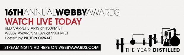 The Webby Awards: Questa sera la diretta del premio che onora il meglio del web! [EVENTO]