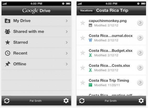Google Chrome e Drive disponibili per iOS
