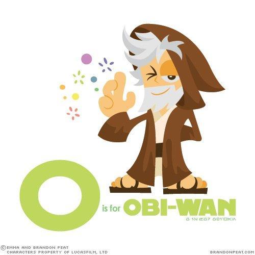Impariamo l'alfabeto, con Star Wars!