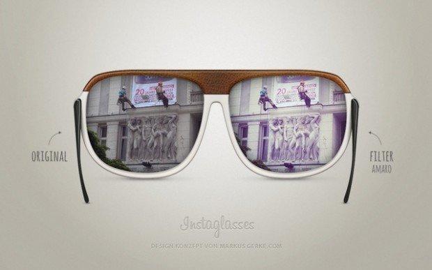 Instaglasses, gli occhiali da sole ispirati da Instagram!