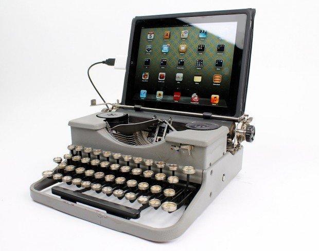Macchine da scrivere come tastiere: fascino retrò!