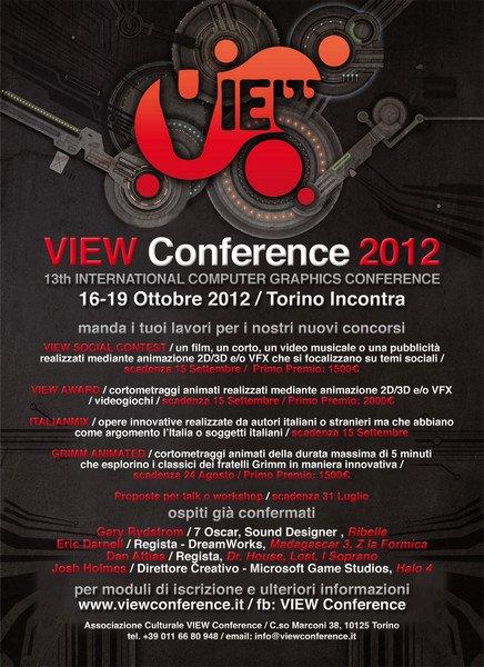 VIEW Conference: a Torino diventano protagonisti i media digitali!