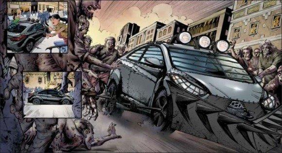 Hyundai progetta un'auto a prova di zombie