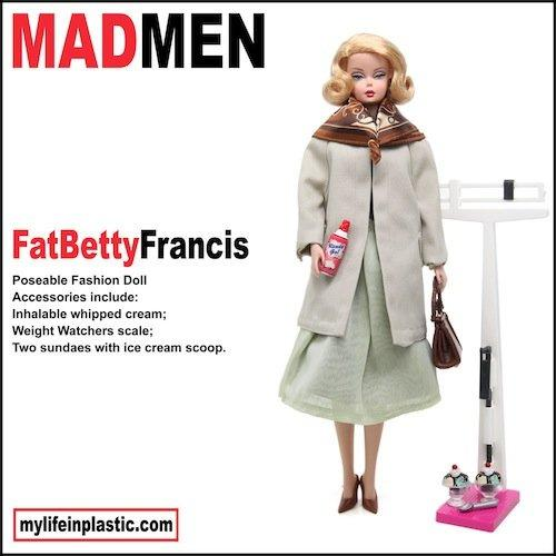 Barbie versione Mad Men negli scatti di Michael Williams