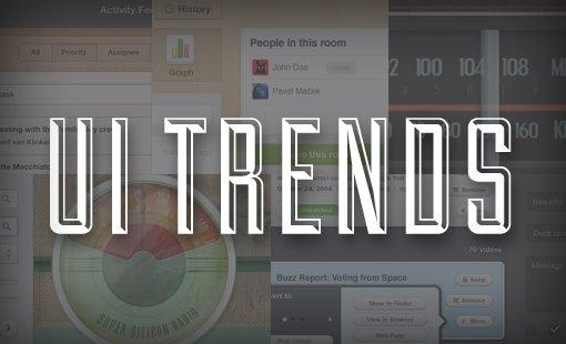 I trend dello User Interface Design del 2012